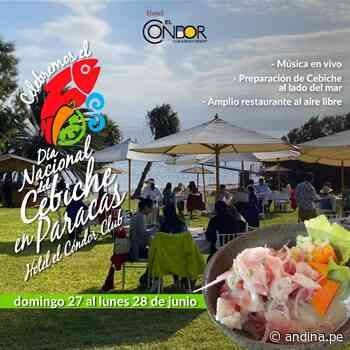 Día Nacional del Cebiche: Paracas celebrará ofreciendo diversidad de platos marinos - Agencia Andina