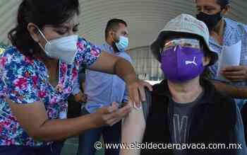Vacunación para mayores de 40 en Tlayacapan y Puente de Ixtla - El Sol de Cuernavaca