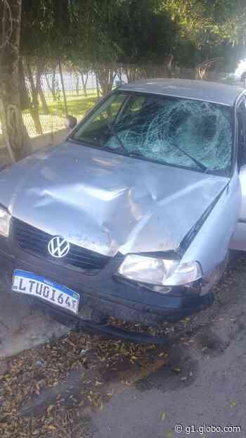 Mulher morre atropelada e motorista tenta fugir, em Campos dos Goytacazes, no RJ - G1