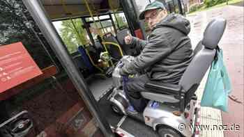Mit E-Mobil jahrelang ausgegrenzt: Gehbehinderter Jürgen Mennenga aus Weener darf endlich in den Bus - noz.de - Neue Osnabrücker Zeitung