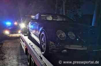 POL-ST: Emsdetten, Fahren ohne Führerschein, 15Jähriger mit 500er Mercedes aufgefallen - Presseportal.de