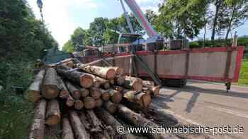 B29 zwischen Reichenbach und Lauchheim nach Unfall gesperrt | Westhausen - Schwäbische Post