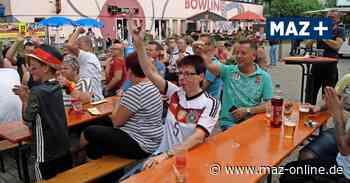 Public Viewing zur Fußball-EM in Wittstock 2021 - Märkische Allgemeine Zeitung