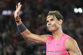 Kann Rafael Nadal ein Teilzeitspieler sein? - Tennis World DE