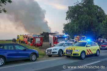 Bischofswerda: Verpuffung - Polizei befragt Zeugen des Unglücks - Sächsische.de