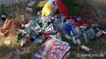 Mit den Temperaturen steigt am Dankernsee bei Haren die Müllmenge - noz.de - Neue Osnabrücker Zeitung