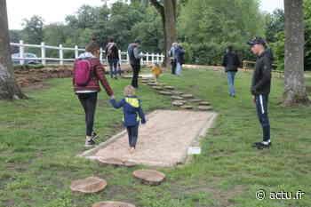 Yvelines. Parcours pieds nus : le jardin de Montorgueil est ouvert à Rambouillet - actu.fr