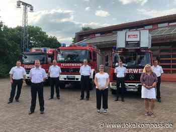 Jahresbilanz, Ehrungen und Beförderungen bei der Freiwilligen Feuerwehr Hamminkeln: Hochverdienter Dank fürs - Lokalkompass.de