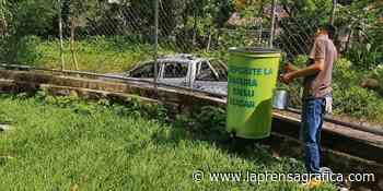 Instalan 70 basureros metálicos en Moncagua - La Prensa Grafica