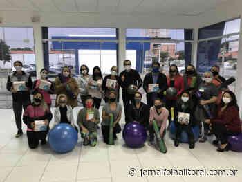 Saúde Física: Aulas gratuitas de Pilates é sucesso em Porto Belo - Jornal Folha do Litoral