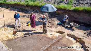 Erste Erkenntnisse der archäologischen Grabungen in Oyten - WESER-KURIER