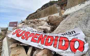 Suspenden por segunda vez obras en el Vigía, en Mazatlán - Debate