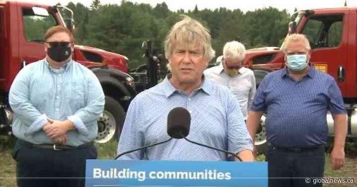 Ontario spends over $16M for community centre in Bracebridge, Ont. - Global News