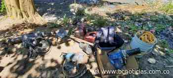 Ejército desarrolla operativo contra la minería ilegal en Neira - BC NOTICIAS - BC Noticias