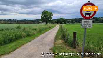 Gemeinde Kissing möchte Alt- und Neuort mit Radweg verbinden - Augsburger Allgemeine