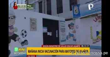 Callao: personas que se vacunaban en Bellavista ahora lo harán en complejo deportivo Campolo Alcalde - Panamericana Televisión
