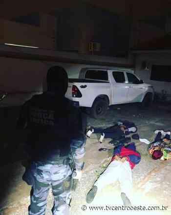 Quatro são presos durante tentativa de assalto em Pontes e Lacerda – TV Centro Oeste - Tv Centro Oeste