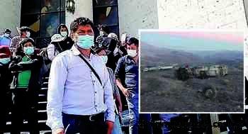 Arequipa: Familias de mineros fallecidos en accidente Nasca-Puquio no reciben apoyo - Los Andes Perú