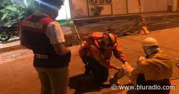 Dos manifestantes y tres policías heridos dejaron protestas en Piedecuesta, Santander - Blu Radio