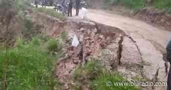 Alerta por deslizamientos de tierra en zona rural de Piedecuesta, Santander - Blu Radio
