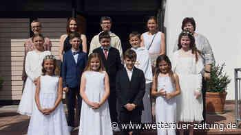 Erstkommunion gefeiert - Wetterauer Zeitung