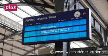 Verkehrschaos macht Niedernhausen zum Umsteigebahnhof - Wiesbadener Kurier