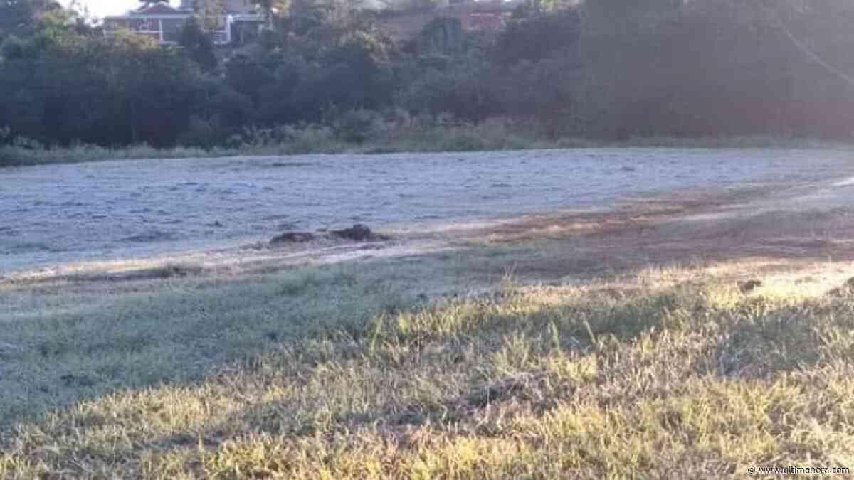 Indigente habría fallecido por el frío en Yaguarón - ÚltimaHora.com