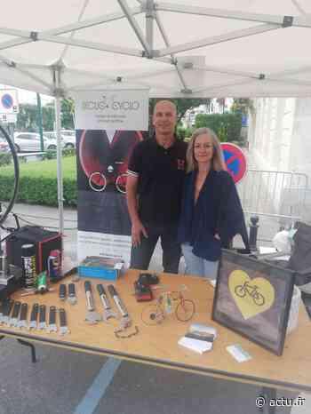 Val-d'Oise. Un habitant de Parmain lance son entreprise de réparation de vélos - actu.fr