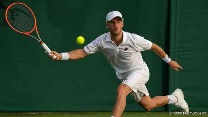 """""""Peque"""" Schwartzman se instaló en la segunda ronda de Wimbledon - Télam"""