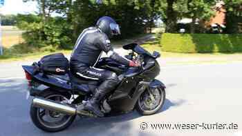 Motorradfahrer am Wochenende von Polizei Syke kontrolliert - WESER-KURIER - WESER-KURIER