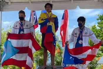 ▷ ¡Campeón Centroamericano y del Caribe! El joven Raúl Briceño dejó en alto la bandera de Venezuela #29Jun - El Impulso