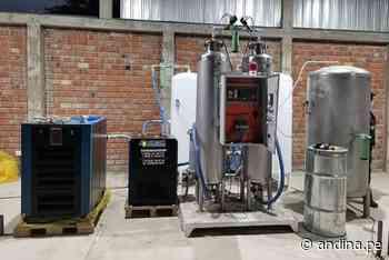 Covid-19: distrito lambayecano de Motupe adquirió planta de oxígeno - Agencia Andina