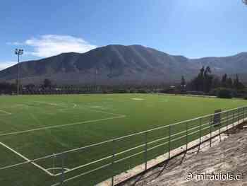 Comuna de Los Vilos: Estadio de Caimanes entra en su etapa final de construcción - Mi Radio