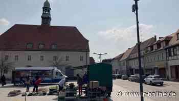 Markt in Finsterwalde: Das ändert sich ab Juli beim Finsterwalder Wochenmarkt - Lausitzer Rundschau