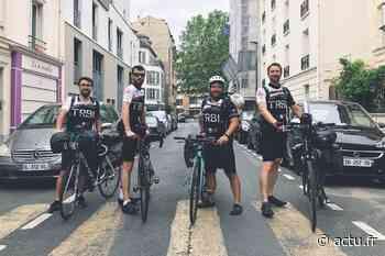 Yvelines. Ils ont parcouru Orgeval - Brest à vélo pour promouvoir leur bière locale TRBL - actu.fr