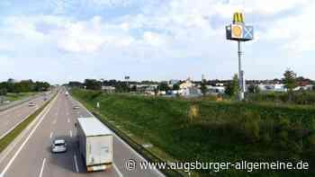 Autobahn: Mann wirft Stein von Brücke bei Jettingen-Scheppach - Augsburger Allgemeine