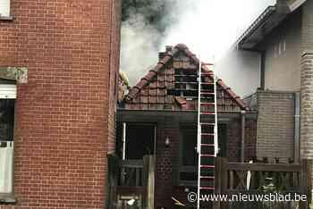 Stenen bijgebouw aan woning uitgebrand, aanpalende villa gevrijwaard