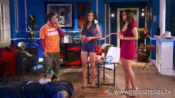 Esmeralda', la hermana de 'Cris', llega de vacaciones con ella y 'Pedro' a 'Vecinos' - Las Estrellas TV