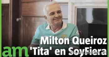 Milton Queiroz Tita, ídolo esmeralda, disfruta su regreso a la ciudad que lo encumbró hace 30 años - Periódico AM