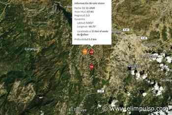 ▷ Funvisis reporta sismo en Quíbor este miércoles #11Nov - El Impulso