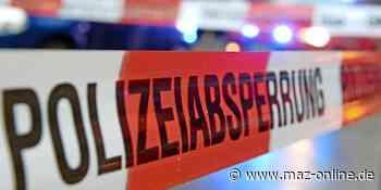 Wildau: Volvo brennt in Nähe von Tankstelle - Märkische Allgemeine Zeitung