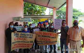 Cojedes | Docentes de El Pao exigen restitución de salarios suspendidos - El Pitazo