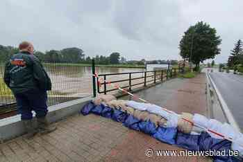 """Bibberen naast een zwellende rivier: """"Gelukkig is de solidariteit groot"""""""