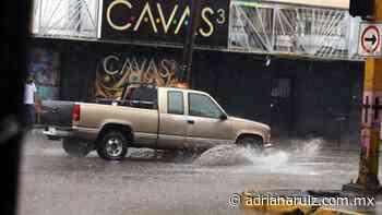 #Juarez   Alertan autoridades por fuertes lluvias en la ciudad - Adriana Ruiz