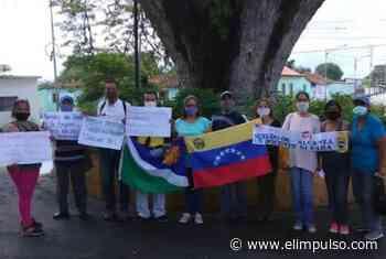 ▷ Realizaron pancartazo en Guama en exigencia de salarios y pensiones dignas #5Nov - El Impulso