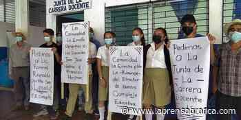 Piden traslado de director de escuela en Corinto - La Prensa Grafica