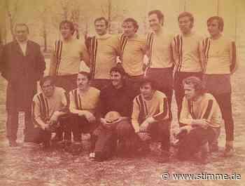 Beim SV Morsbach ging es vor 50 Jahren mit wilden Spielen los - Heilbronner Stimme