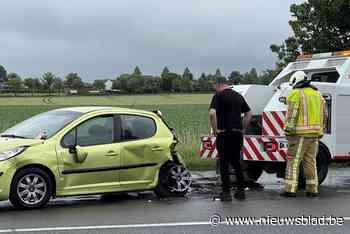 Even hinder door ongeval bij oprit A19