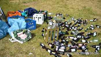 Blaulicht-Party am Baggersee in Sengenthal: Was bleibt, ist wie immer der Müll und schwere Köpfe - Nordbayern.de