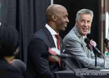 Billups Introduced As The 15th Head Coach In Franchise History